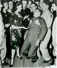 Linda Darnell At The Hollywood Canteen