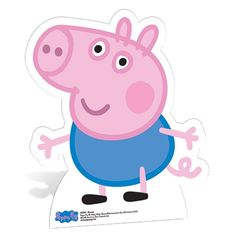 Party Ark's 'George Pig Free Standing Cardboard Cutout'