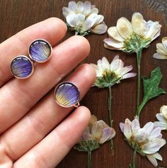 Leaf Jewelry, Resin Jewelry, Jewelry Crafts, Jewelry Art, Clear Epoxy Resin, Uv Resin, Candle Craft, Diy Resin Crafts, Resin Flowers