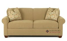 The Full sized Calgary Fabric Sofa is completely customizable by you so you know it will match. Every sleeper we sell is top notch quality and will last years! Small Sleeper Sofa, Sectional Sofa With Recliner, Small Sofa, Tufted Sofa, Sleeper Sofas, Sofa Design, Round Sofa Chair, Swivel Chair, Sleepers In Seattle