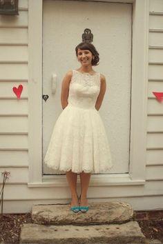 50s wedding dress.....so pretty
