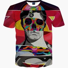 37ab979e2ccc72 New Fashion Men amp  s T-shirt 3d funny printed Anime Animate Characters  Deadpool
