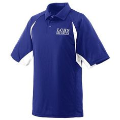Augusta Sportswear Men's Self Fabric Three Button Textured Sport Shirt. 5090 Description   100% polyester wicking closed hole mesh, Wicks moisture away from the body, Heat sealed label, Self-fabric collar, Contrast color sleeve and side inserts, Topstitched inserts and armholes, Raglan sleeves, Box-stitched placket, Three matching buttons with cross-stitching, Double-needle hemmed sleeves and bottom, Individually polybagged. G0tApparel