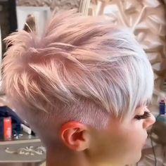 Short Hair Cut - - Diana Kurzhaarschnitt - - # jeden Tag Frisuren - hair cuts for women Short Hair Styles Easy, Short Hair Cuts, Curly Hair Styles, Very Short Hair, Girls Short Haircuts, Short Hairstyles For Women, Trending Hairstyles, Pixie Hairstyles, Pixie Haircut Color