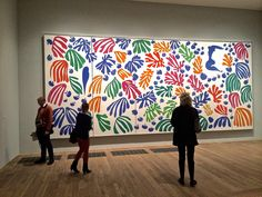 matisse cutouts tate modern - Google Search