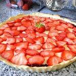 Tarta de crema y fruta sin azúcar | Dulces diabéticos