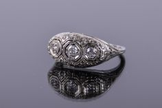 Romantic Diamond Ring #jewelry #EBTH