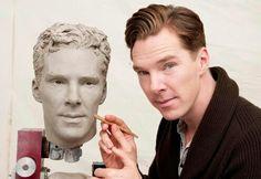 We heard you like Benedict Cumberbatch so here's Benedict Cumberbatch sculpting Benedict Cumberbatch