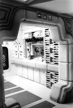 Alien Explorations: Nostromo comissary images