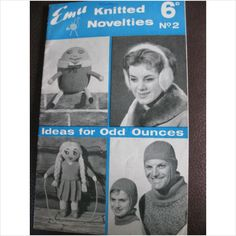 Vintage Emu booklet knitted novelties No 2 ideas for the odd ounce on eBid United Kingdom