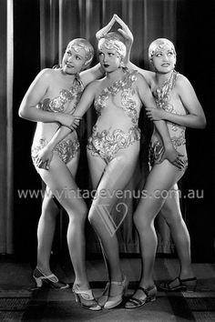 Art Deco Showgirls c.1920s