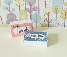 little cute box printable