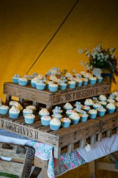 Alex and Andrew's 'Darling Buds of May meets Antiques Roadshow' Tipi Wedding by Toast of Leeds
