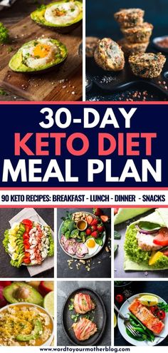 Keto Diet for Beginners-Free 30 Day Meal Plan This keto diet for beginners meal plan has more than week 1 covered-you get 30 days of easy keto recipes for breakfast, lunch, dinner, & snacks! 90 Easy K Ketogenic Diet Meal Plan, Ketogenic Diet For Beginners, Diet Meal Plans, Ketogenic Recipes, Diet Recipes, Healthy Recipes, Crockpot Recipes, Free Keto Meal Plan, Ketogenic Breakfast