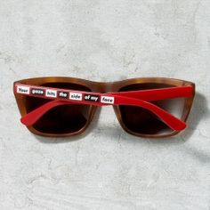 Barbara Kruger Sunglasses - Tortoise - Accessories