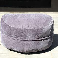 Foam filled, Suede Bean Bag