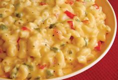 Mexican Macaroni and Cheese - 3 Smartpoints Recipe Main Dishes with elbow macaroni, processed cheese, taco seasoning, salsa