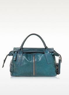 Harlem Leather Handbag - Francesco Biasia