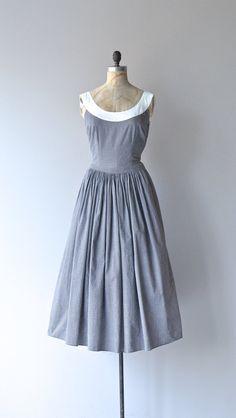 d0151379e05 Some Do Wander dress vintage 1950s dress cotton by DearGolden Vintage 1950s  Dresses