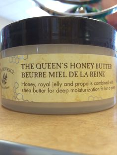 The Queens Honey Butter -Honey,Royal jelly and propolis combined with Shea butter for deep moisturization fit for a queen. $27.50