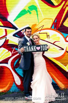 Ideas for your #wedding thank you photos.  #WeddingPlanning #MikeStaffProductions
