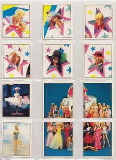 1993 Barbie Panini Offical Stickers Incomplete SET 234 OF 240 Missing 6 Sticker | eBay