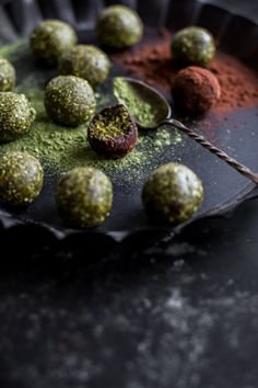 There can never be too much a of a good thing. Like adaily good habit or a beautiful song on repeat. Like a weekly family ritual that never grows old, like a trusty old recipe that uplifts your so… (Pistachio Matcha Snack Balls - recipe + photo/ Sneh Roy #vegan #glutenfree)