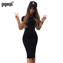 Gagaopt Summer Women Dresses 95% Cotton Knee-Length Skinny Office Dress Short Sleeve Bandage Robes Bodycon Vestidos Pencil Dress(China (Mainland))