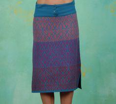 Lien en Giel Rock Peggy print skirt rok blue purple pink blauw roze paars