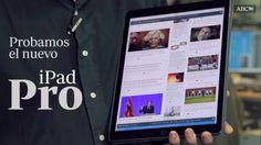 iPad Pro de Apple: Una tableta grande para hacer cosas   Apple agrande su tableta hasta las 13 pulgadas una gigantesca pantalla que busca las manos de empleados y trabajadores  El nuevo modelo de su popular tableta iPad el iPad Pro es un dispositivo de 129 pulgadas frente a las 94 pulgadas del iPad Air 2 que saldrá a la venta en noviembre desde 799 dólares. El aparato además de ser un 37% mayor que el iPad Air 2 es ligeramente más grueso 69 milímetros frente a 61 del modelo anterior y un 60%…