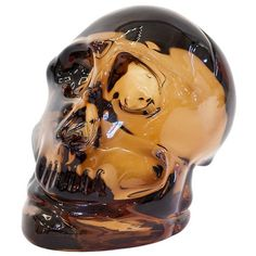 VISIONNAIRE Varden Murano Glass Paperweight (314,605 MKD) ❤ liked on Polyvore featuring home, home decor, office accessories, brown and murano glass paperweight