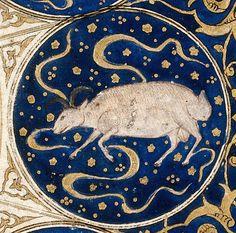 Capricórnio - Horóscopo do livro de nascimento de Iskandar  Capricórnio é o décimo  signo astrológico do zodíaco, situado entre Sagitário  e Aquário  e associado à constelação de Capricornus. Seu símbolo é uma cabra.   É também um dos quatro signos cardinais, juntamente com Áries, Câncer e Libra. Com pequenas variações nas datas dependendo do ano, os capricornianos são as pessoas nascidas entre 22 de dezembro e 20 de janeiro.  Horóscopo do príncipe Iskandar, neto de Tamerlão, o conquistador…