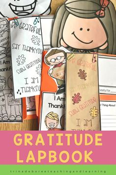 This I Am Thankful Lapbook is the perfect way to share gratitude in the month of November or even in the New Year. Thanksgiving is a great time to focus on gratitude and thankfulness. This gratitude activity is made up of printables and has an art-project feel with this creative craft-like Lap Book. The Thankful Lap Book is perfect for Thanksgiving, New Years, or any time you want to celebrate a grateful heart or practice an attitude of gratitude.