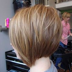 Looking for new angled bob hairstyles including Victoria Beckham's iconic style ? You'll find images of Best Angled Bob Hairstyles that you will adore! Love Hair, Great Hair, Awesome Hair, Back Of Bob Haircut, Angeled Bob Haircut, Short Hair Cuts, Short Hair Styles, Angled Bob Hairstyles, Best Bob Haircuts