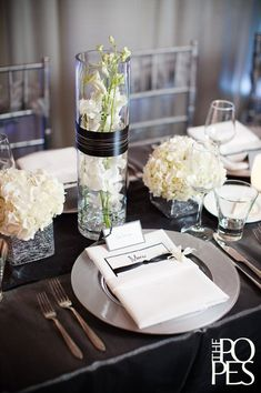 Winter Wedding. Black White ...