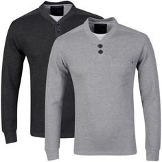 Not the biggest name in Men's casual wear, but theseDissident men's sweatshirts have a massive 60% off and are available in 2 colours. With a double branded button neck and dual chest pocket, these sweatshirts are available on eBay where the seller has over 99% feedback and allows Paypal or credit card for payment.