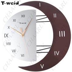 http://www.chaarly.com/clocks/60805-t-weid-artistic-wall-clock-wag-on-the-wall-hanging-clock-timekeeper-for-home-office-sun-moon-pattern.htmlMore Pins Like This At FOSTERGINGER @ Pinterest