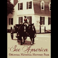 Colonial National Historical Park by Rendall M. Seely  #SeeAmerica
