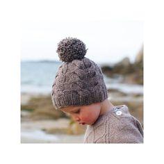"""Lucky (bonnet+ col) - De Rerum Natura design : Solenn Couix-Loarer Yarn : Gilliatt """"poivre"""""""