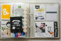 Scaled down/simplified project life | september + october 2013 | creative blessing:  this is what I want!