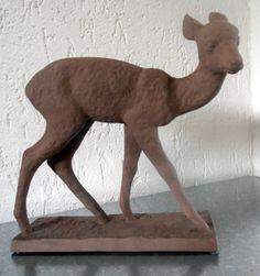 Karlsruhe majolika deer Else Bach by Veryodd on Etsy, $150.00 - Oma und Opa hatten auch so eins