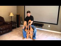 Here is a brilliant design for a stitching pony.  The maker is Daniel Offerman…