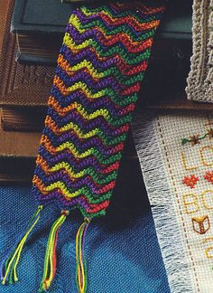 Ravelry: A Bookmark to Crochet pattern by Julia Baratta  good for a man