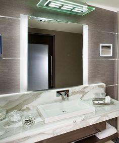 Novo Lighted Mirror At The Fontainbleau Miami Beach Florida Bathroom Mirror  Design, Bathroom Mirror Lights
