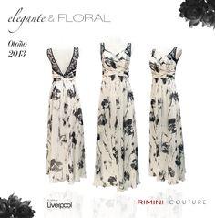 #Vestido Florar con delicados detalles de #encaje, este elegante modelo es perfecto para un evento especial de día.