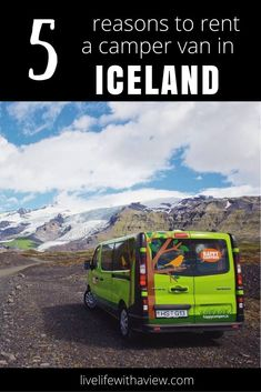 5 Reasons to Rent a Camper Van in Iceland (with Happy Campers) | Life With a View