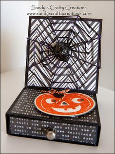 The Second Fright Before Halloween 2014 – Spooky Easel Boxes! » Sandy's Crafty Creations