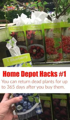 Check out these Home Depot Hacks that'll make your next Pinterest project easy.