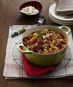 Das Rezept für Hubertustopf mit Champignons und Chorizo und weitere kostenlose Rezepte auf LECKER.de