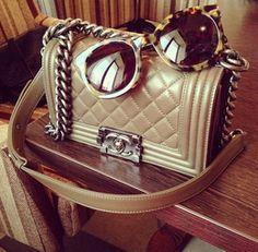 Glam Chanel Bag - Secrets of stylish women